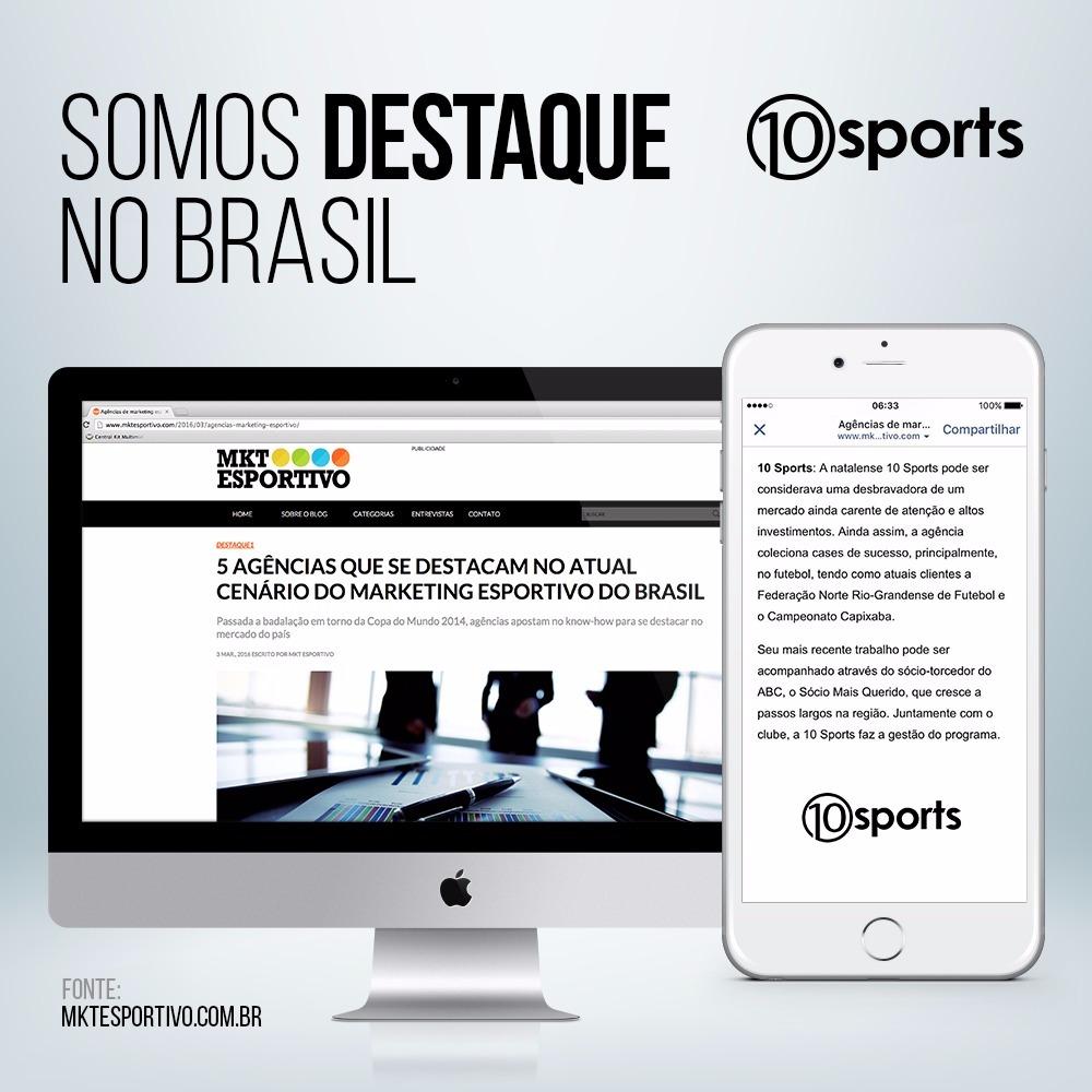 Destaque no Brasil